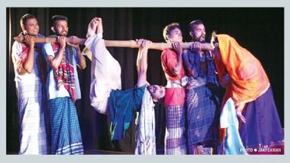 'Paicho Chorer Kiccha' on Mahila Samiti Mancha today