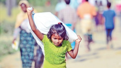 No good news for Rohingya children