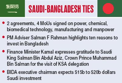 KSA, Bangladesh open new chapter in bilateral relations