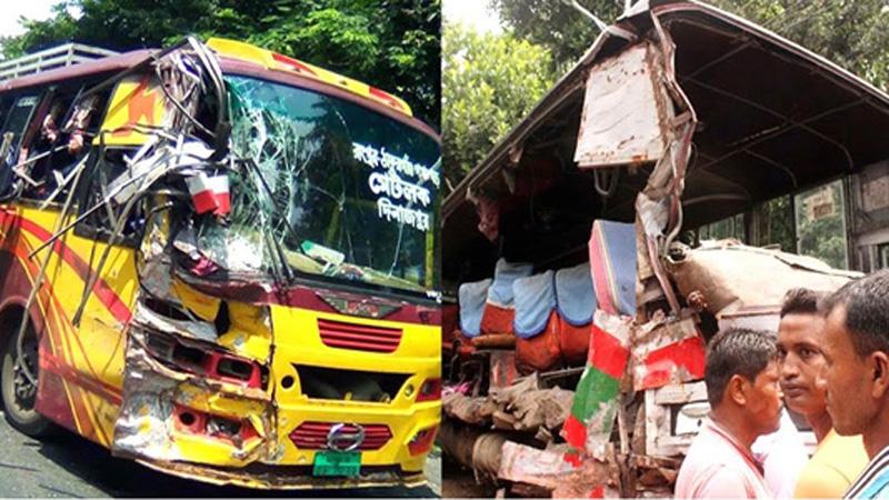 7 killed, 42 injured in Rangpur road crash