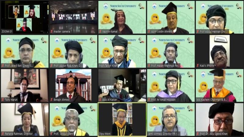 NSU holds 23rd convocation ceremony virtually