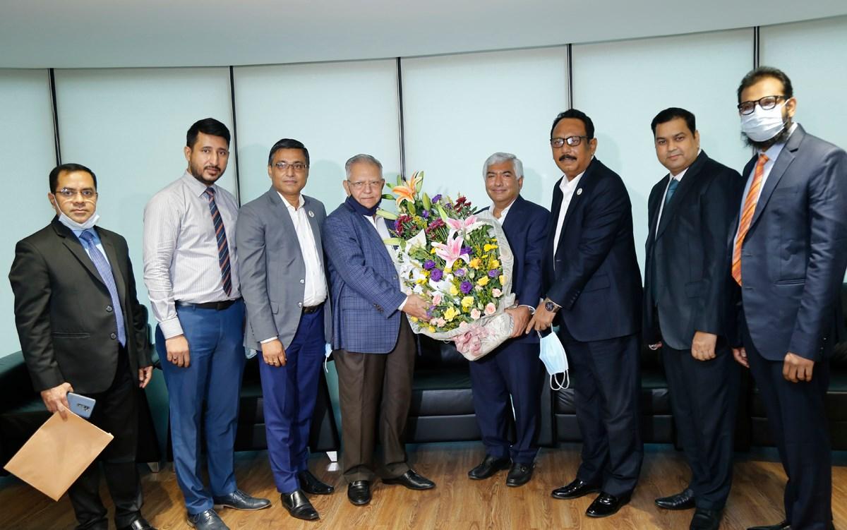 Mercantile Bank chairman greets FBCCI president