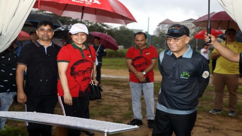 Bangladesh mission holds tree plantation programme in Brunei