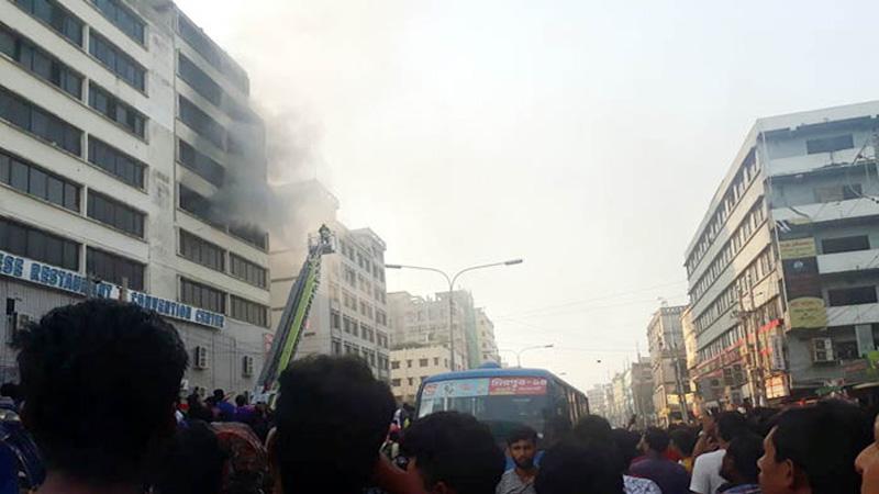 Mirpur garment warehouse fire under control