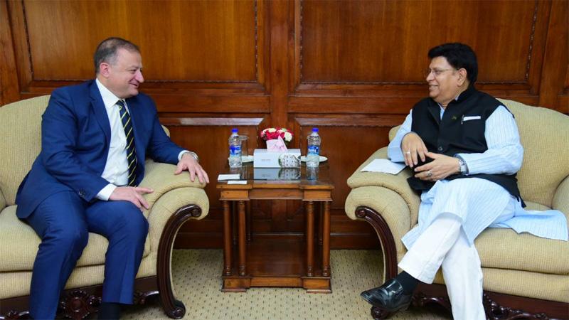 Bangladesh keen to enhance trade ties with Georgia