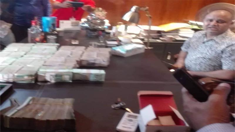 Rab raiding another Jubo League leader's office at Niketan
