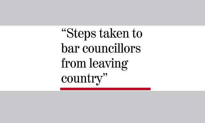 24 councillors under law enforcers' scanner