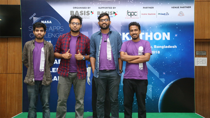 Bangladeshi students win NASA competition