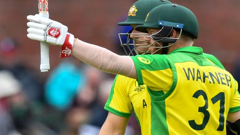 Australia's Warner scores World Cup ton against Pakistan