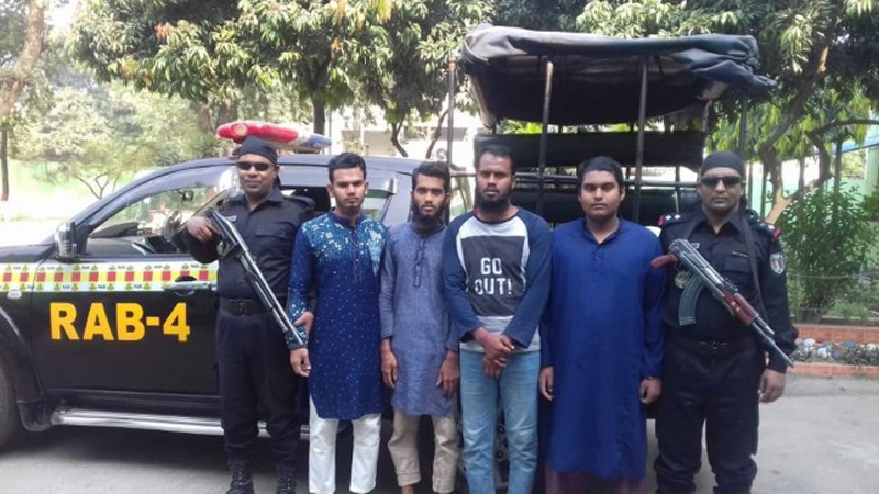 4 'Ansarullah militants' held in city