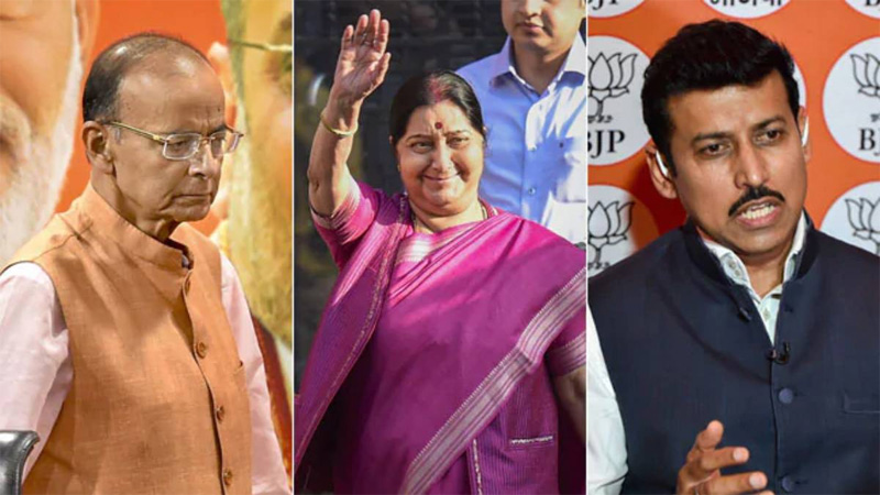 New team Modi leaves out these big names
