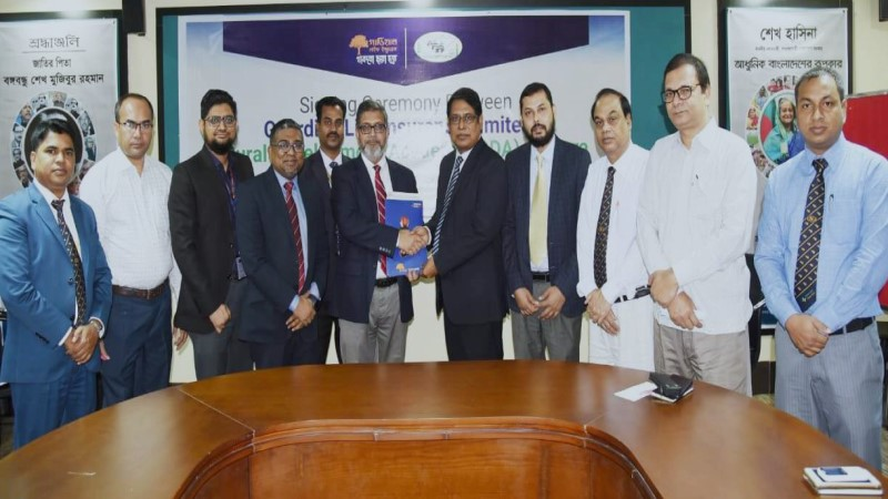 Guardian Life signs group insurance agreement with Rural Development Academy, Bogura