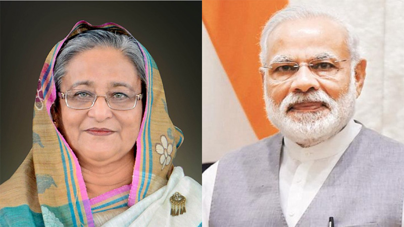 Humanity will overcome pandemic soon: Modi writes to Hasina