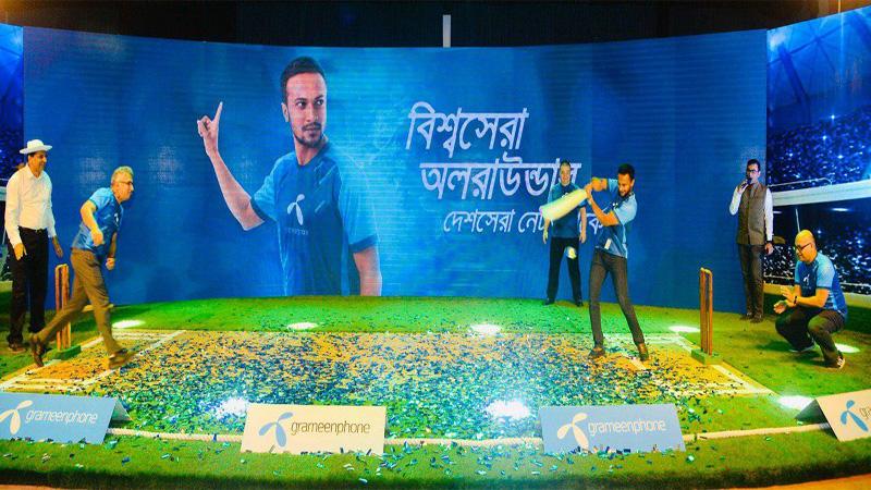 Shakib joins GP as new brand ambassador of GP