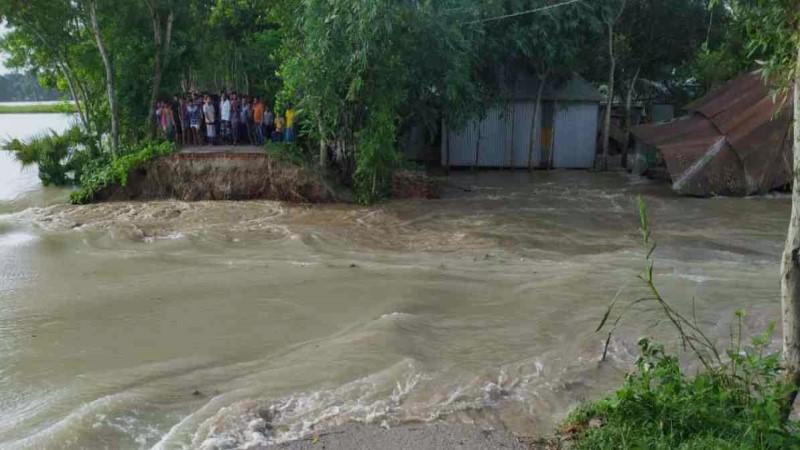 Dharla crosses danger mark as major rivers rise in Brahmaputra basin