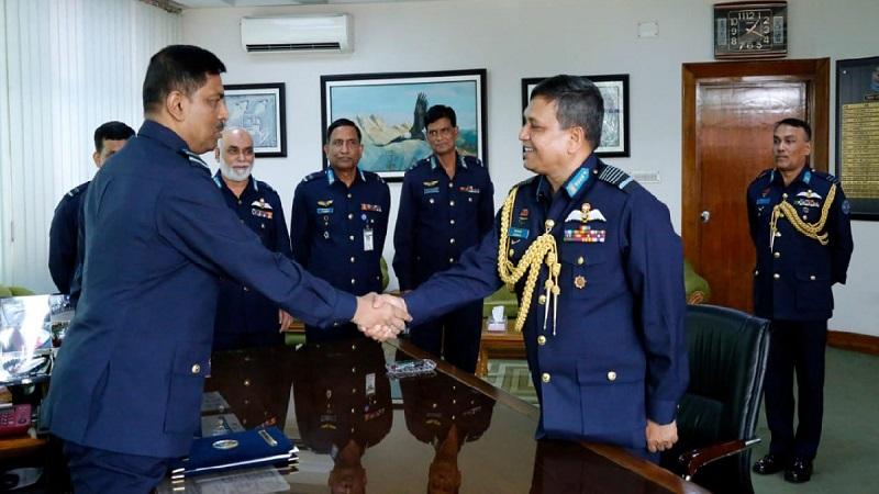 Air Vice Marshal Shaikh Abdul Hannan takes over BAF Command