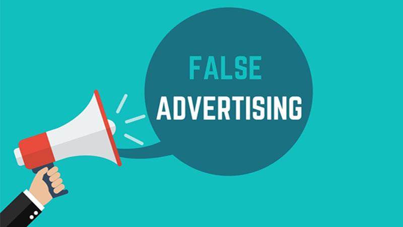 Addressing deceptive advertising