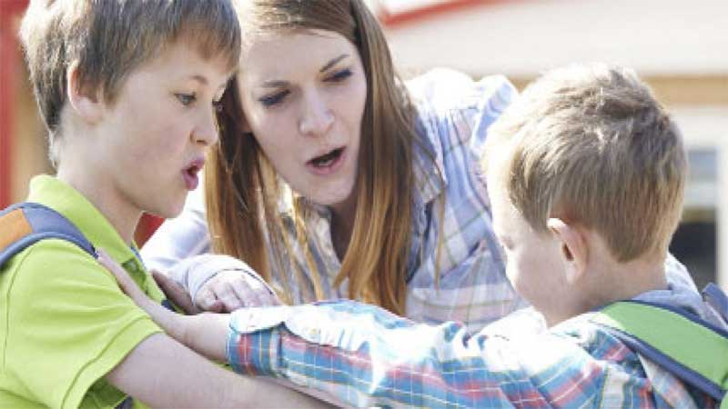 Dealing with an aggressive child