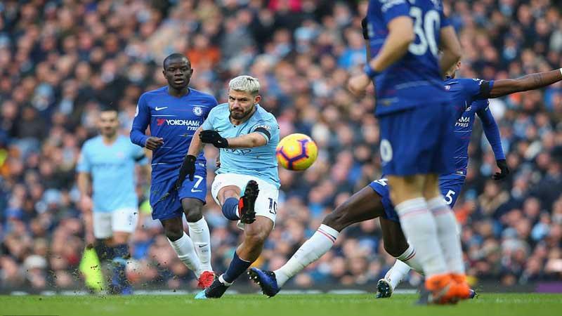 Aguero's hat-trick humiliates Chelsea