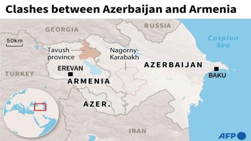 Dozens dead as world leaders urge halt to Azerbaijan-Armenia clashes
