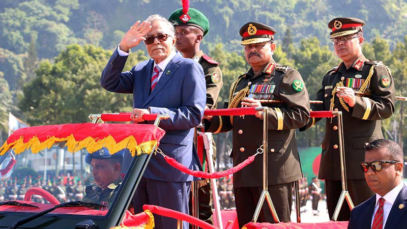 Army more skilled, smarter now, says president