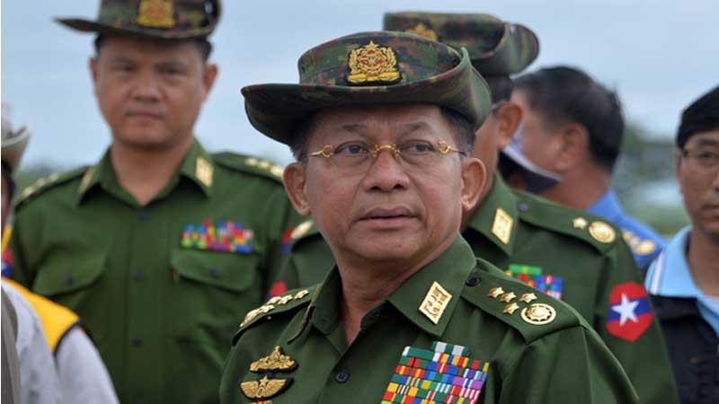 How effective is the blockade on Myanmar?
