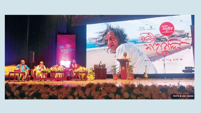 Artist Shahabuddin's  69th birthday celebrated in style
