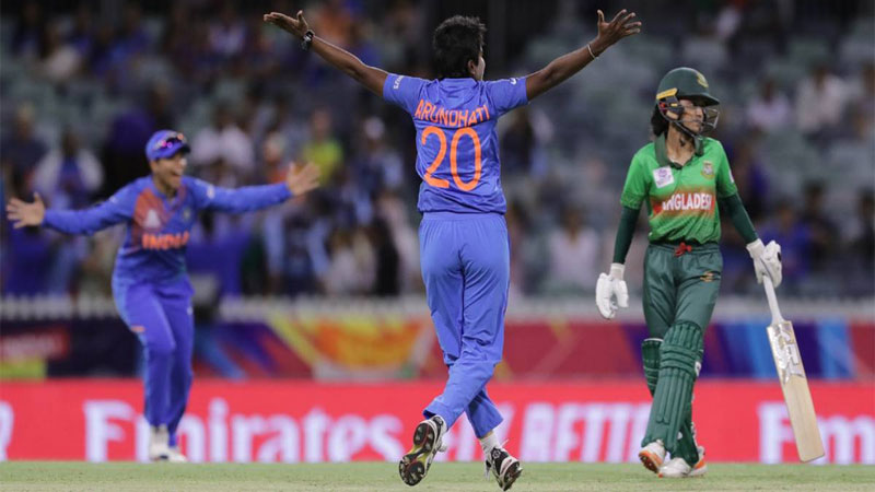 Tigresses make frustrating start losing to India by 18 runs