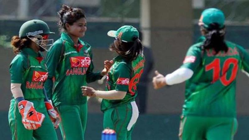 BD Women thrash UAE by seven wickets