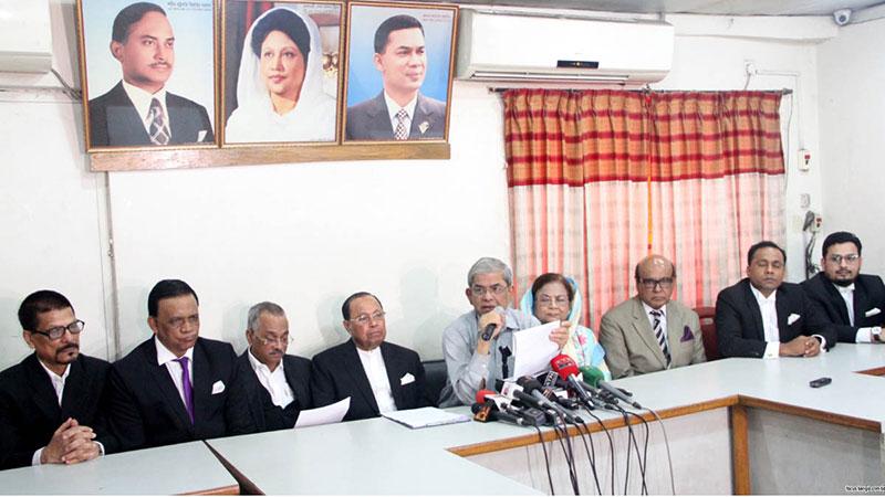 BNP accuses govt of controlling judiciary
