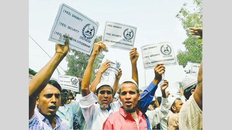 Genocide may have taken place in Rakhine