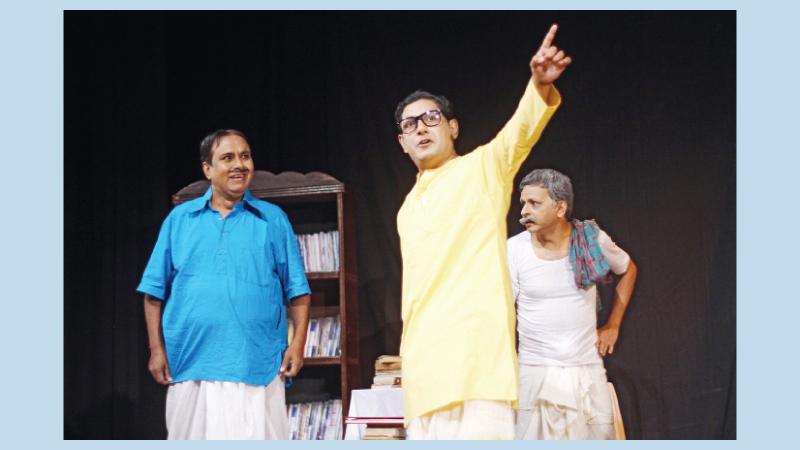 Loko Natyadal to stage 'Baikunther Khata' today