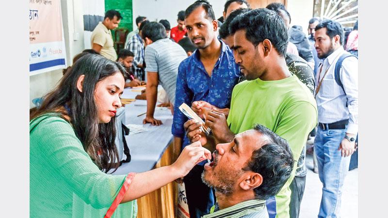 Vaccination blitz kicks off to eliminate cholera