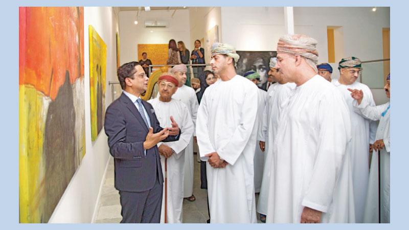 Bangladeshi artists' exhibition captivates visitors in Oman