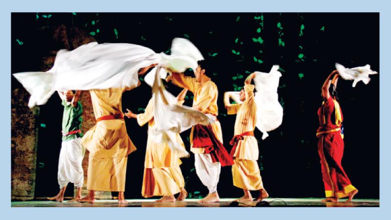 'Baramkhana' on day II at Shilpakala today
