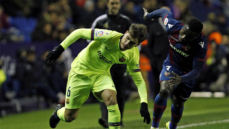 Without Messi, Barcelona loses to Levante in Copa del Rey