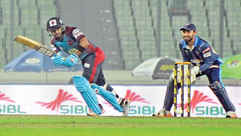 Sabbir blitz steers Barisal to final