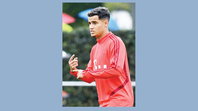 Coutinho won't start for Bayern on Saturday: Kovac