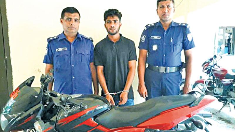 Beanibazar thrives on illegal Indian bikes