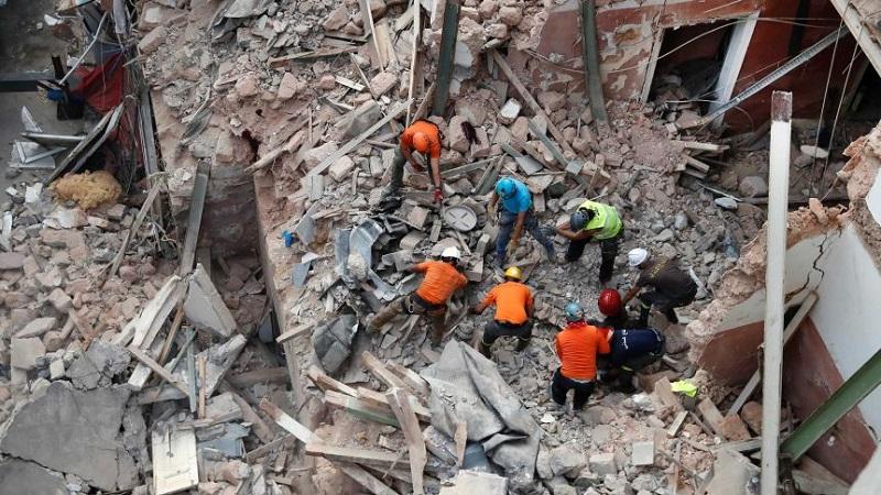 Lebanese Army Finds More Explosive Chemicals Outside Beirut Port After Huge Blast
