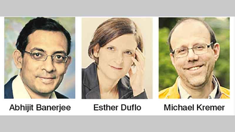Bengali among trio wins Nobel Economics Prize