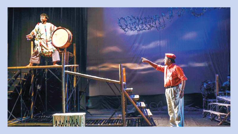 Aranyak brings 'Bhangabanga' on Shilpakala stage today