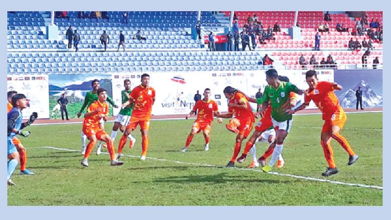 Bhutan expose grim state of Bangladesh football