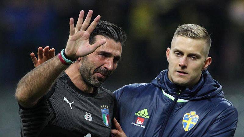 Buffon ends international career