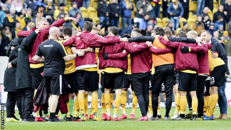 Bundesliga: Dynamo Dresden return two more positive coronavirus tests