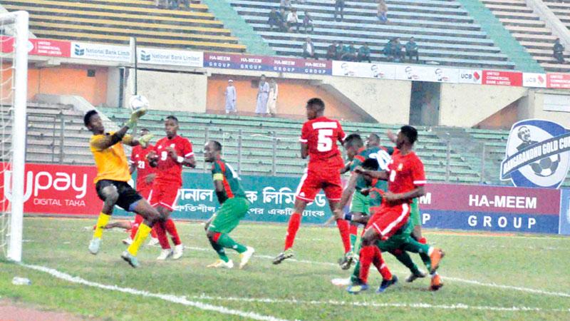 Burundi make perfect debut