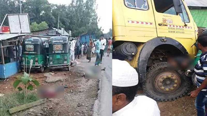 5 killed as truck rams into crowd in Chattogram
