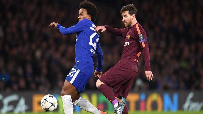 Chelsea look to upset Barcelona