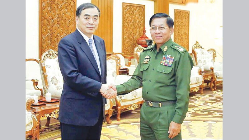 China, Myanmar vow to strengthen ties, stability