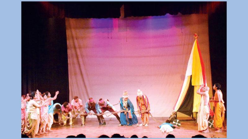 Chinese and Bangladeshi artistes stage two Tagore plays at Shilpakala